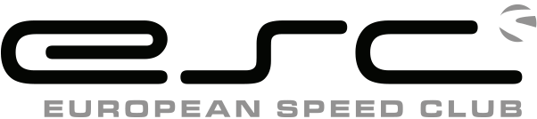 European Speed Club Logo Schwarz